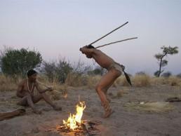 deception valley bushmen dancing