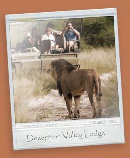 Deception valley lodge safari